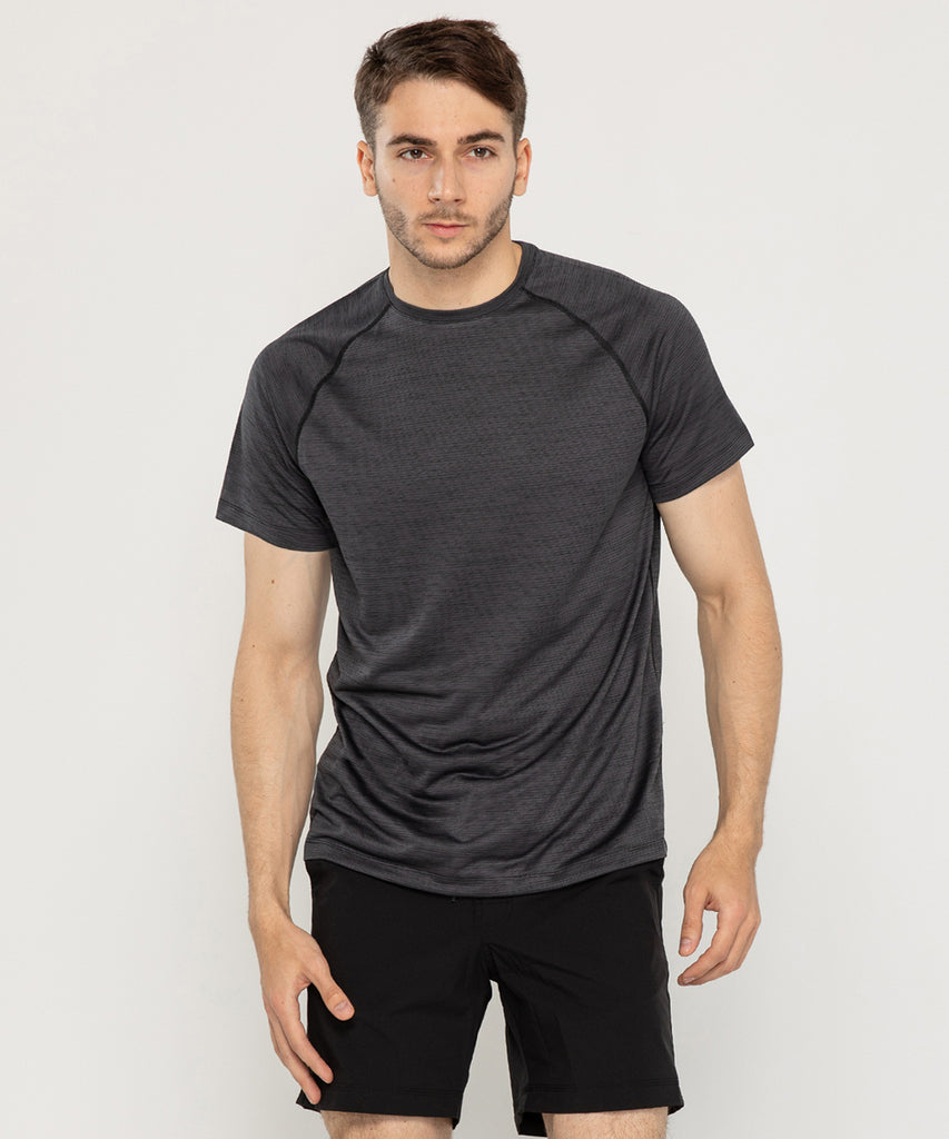 charcoal T-shirt short sleeve