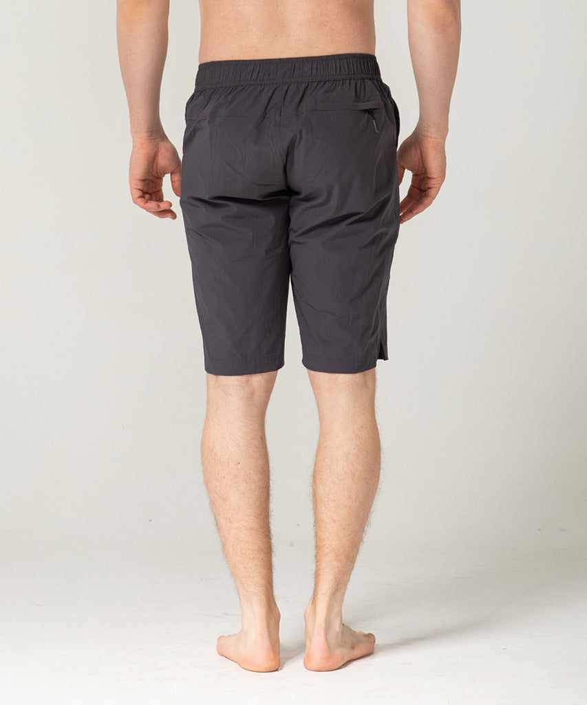 charcoal short pants two deep side pockets
