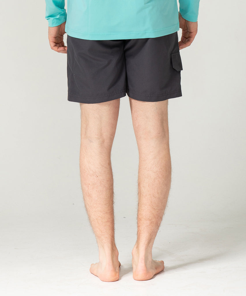 charcoal light weight shorts