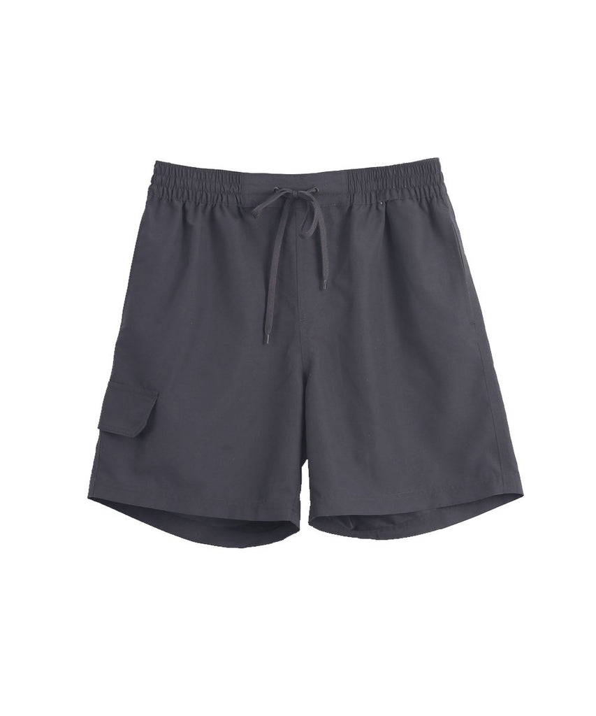 charcoal shorts front