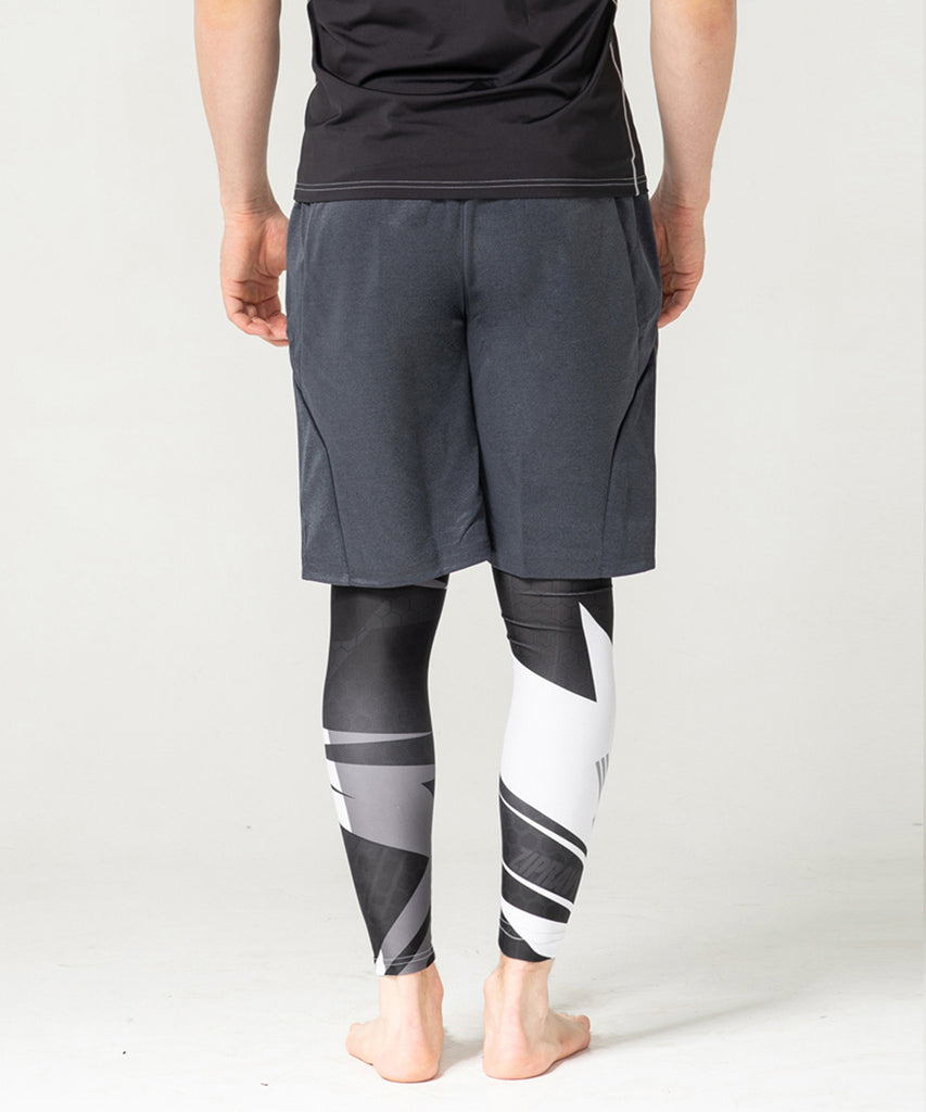 CHARCOAL ATHLETIC SPORTS SHORT PANTS