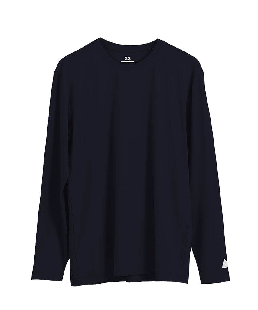 g-navy loosefit long sleeve rashguard