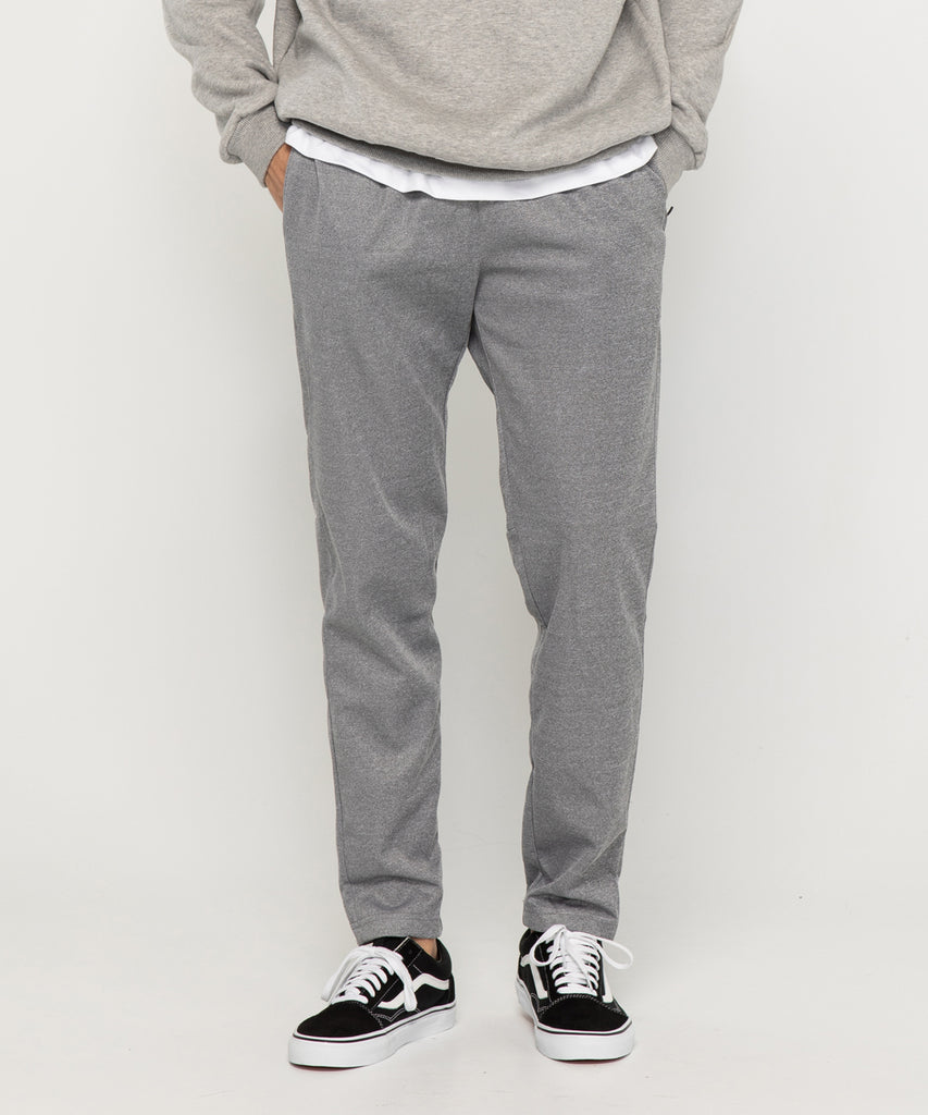 gray training long pants
