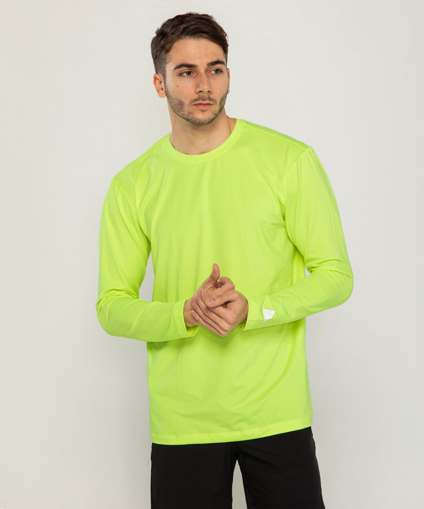 green loosefit long sleeve rashguard&size:XXX