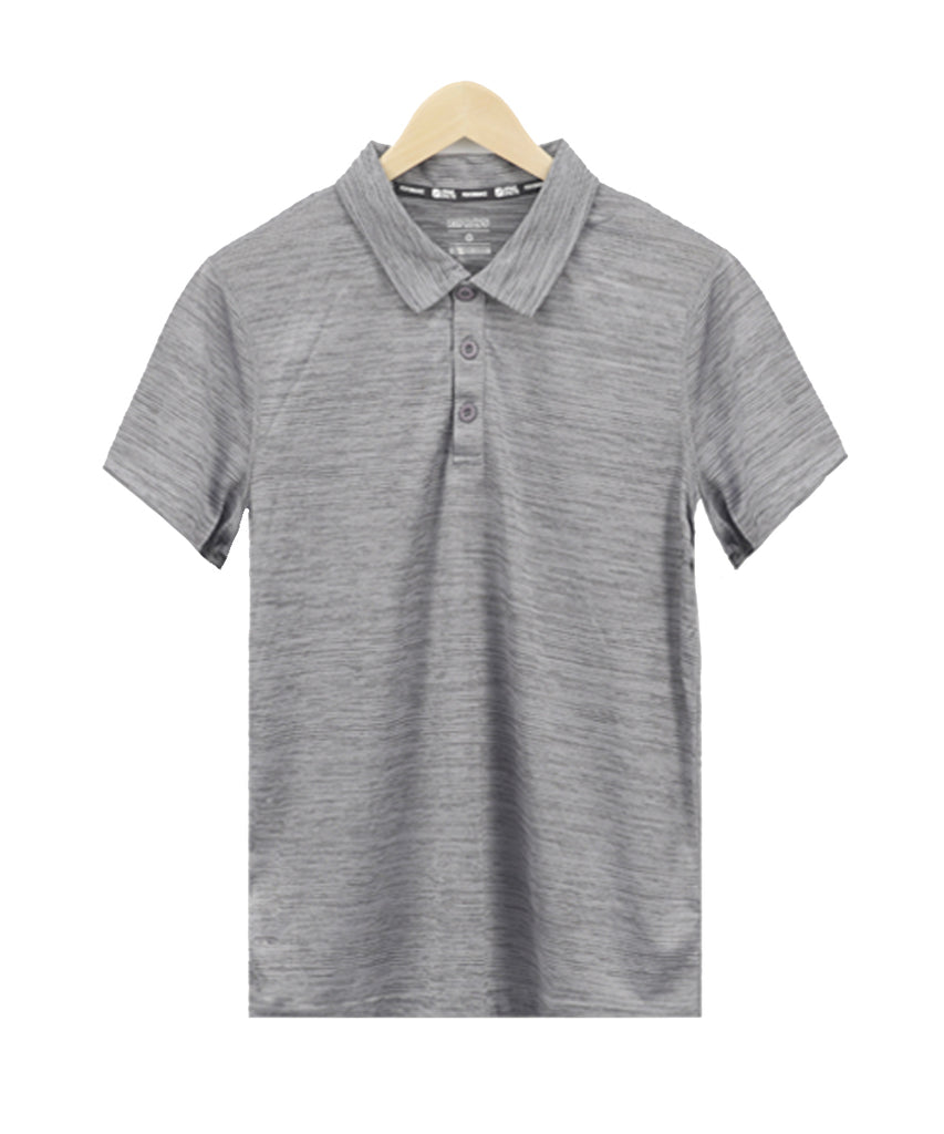 grey pk T-shirt short sleeve