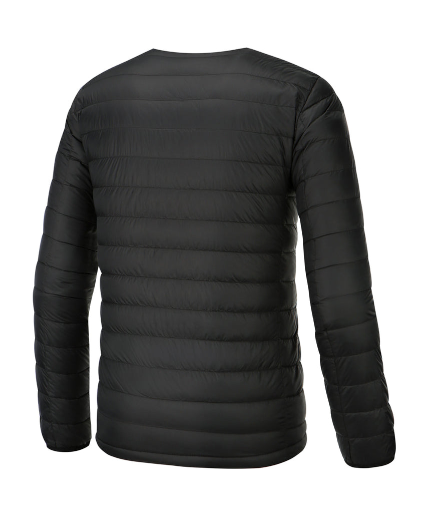 lightweigt down jacket black for mens