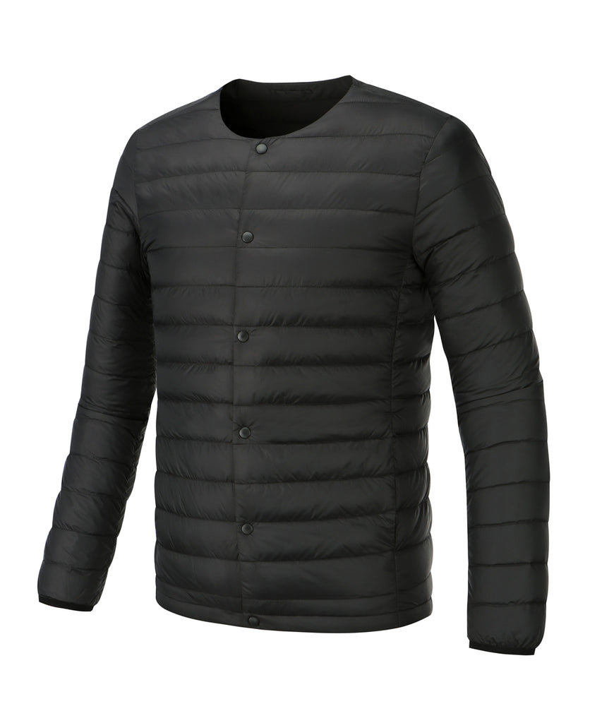 men lightweigt down jacket black
