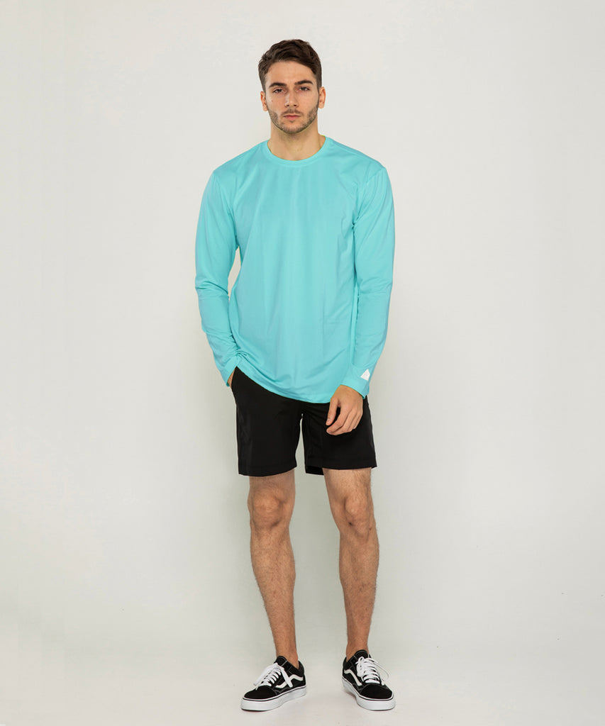 mint loosefit long sleeve rashguard&size:XXX