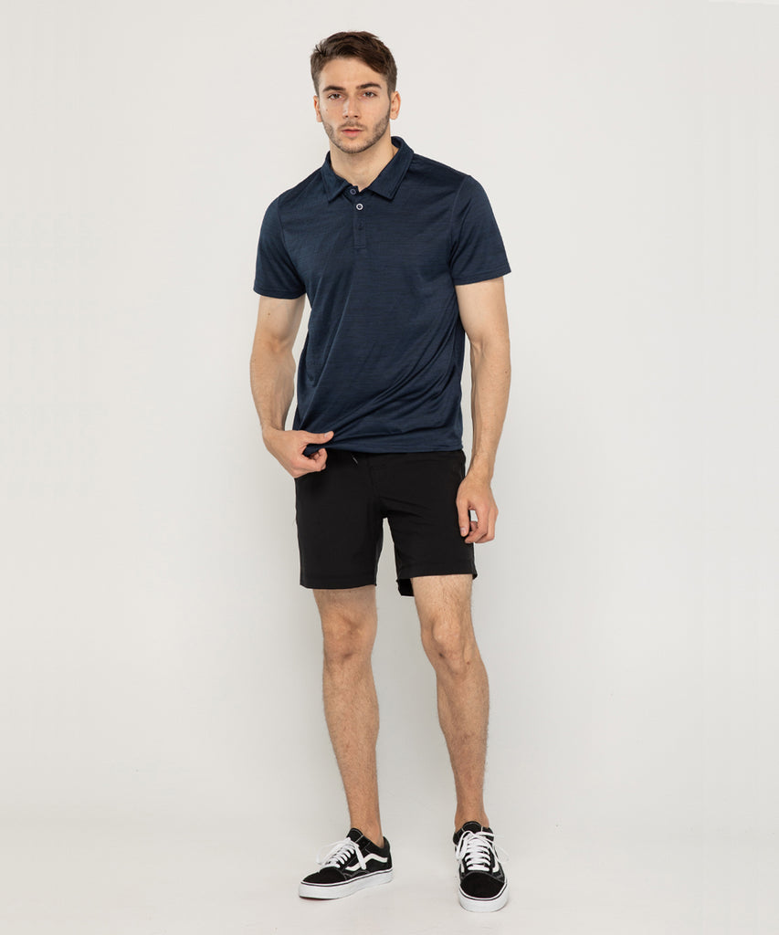 navy pk T-shirt short sleeve