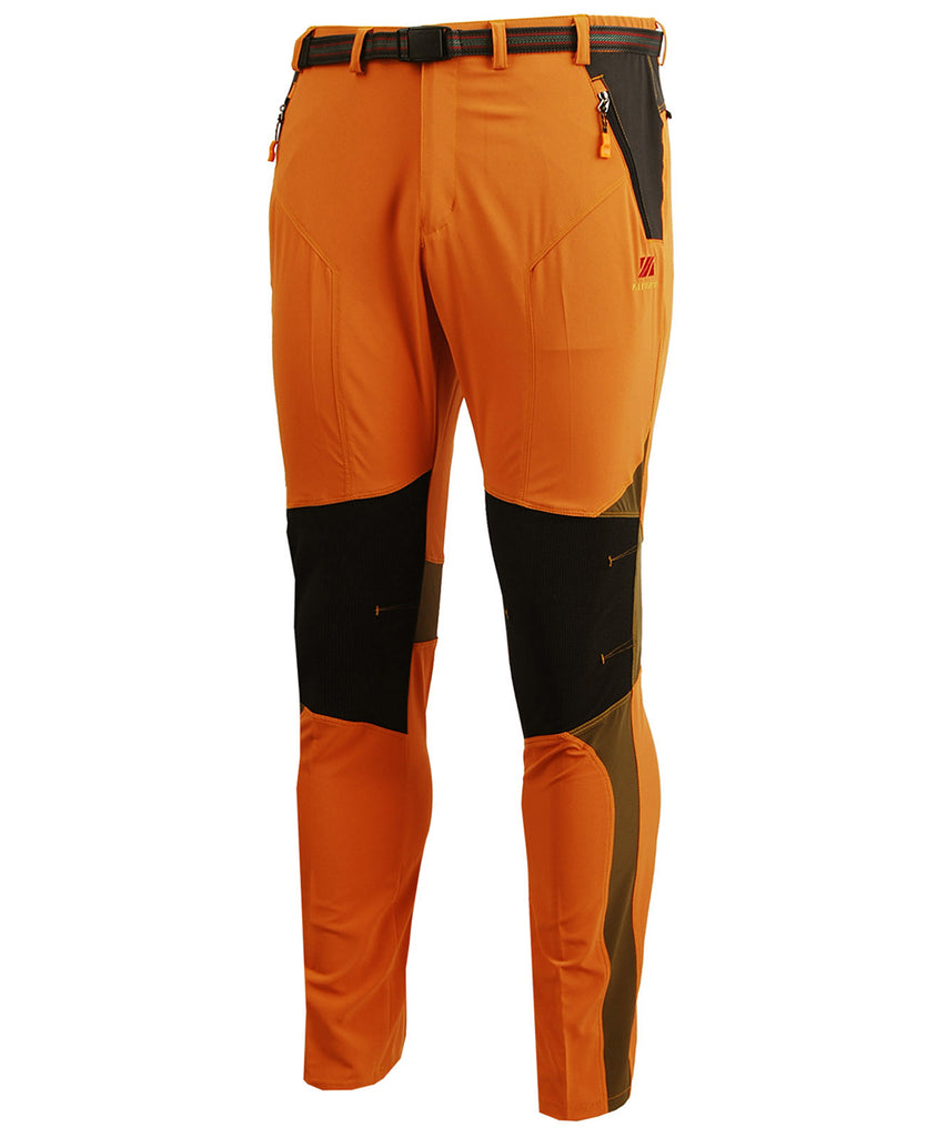 orange lightweight hiking long pants