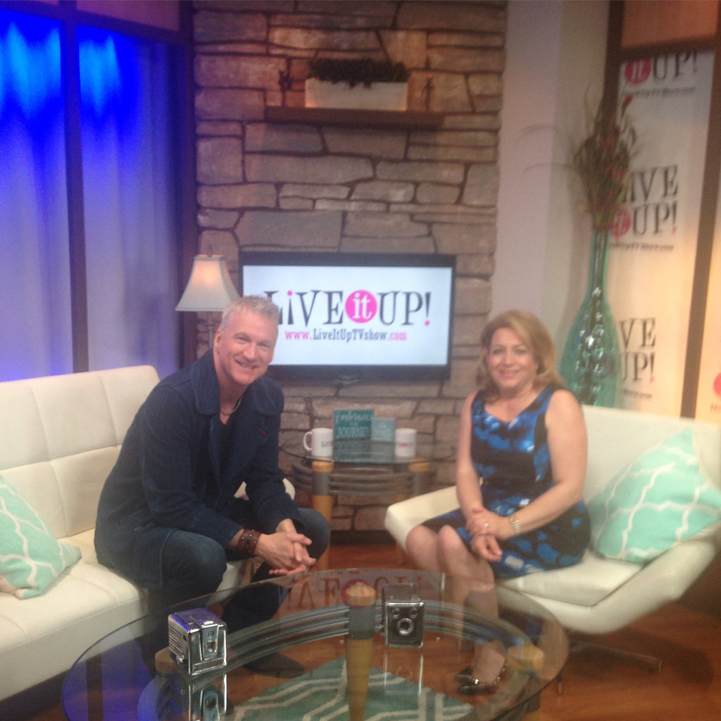 Here's my recent appearance on the television show on CBS called Live it Up! with Donna Drake