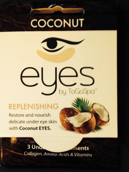 Coconut EYES TO GO Spa Collagen Pads