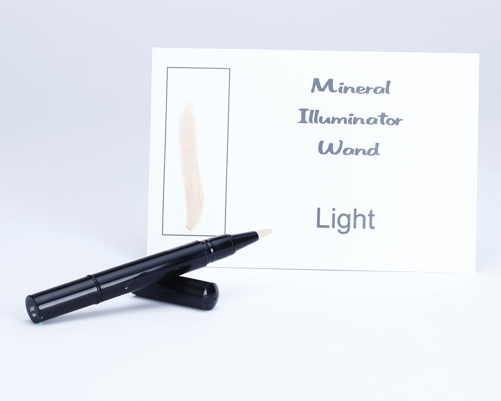 Concealer/ Illuminator Brush Wand.
