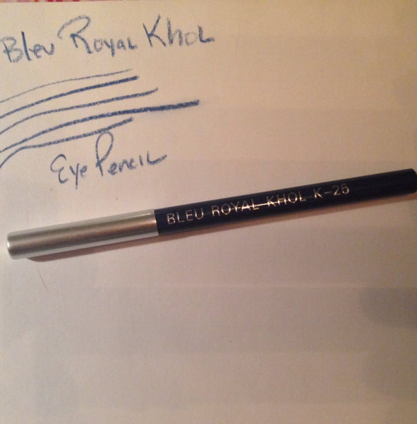 Blue Kohl Eyeliner Pencil with Metal Sharpener