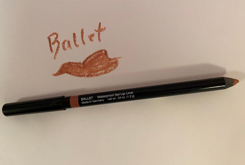 Ballet Waterproof Gel Lip Liner Pencil