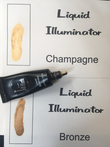 Liquid Illuminator in Bronze & Champagne