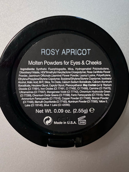 Rosy Apricot Molten Powders for Eyes & Cheeks
