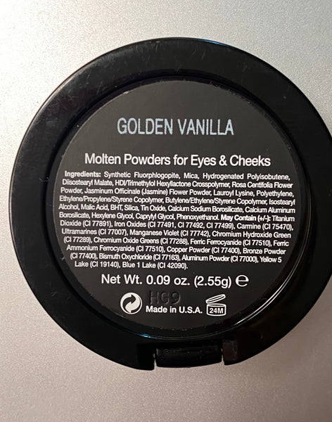 Golden Vanilla Molten Powder Eyeshadow & Blush