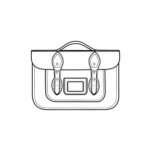 12.5-Inch Briefcase Satchels