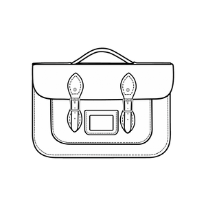 14-Inch Briefcase Satchels
