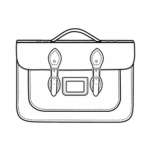 15-Inch Briefcase Satchels