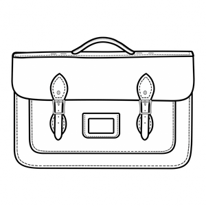 16.5-Inch Briefcase Satchels