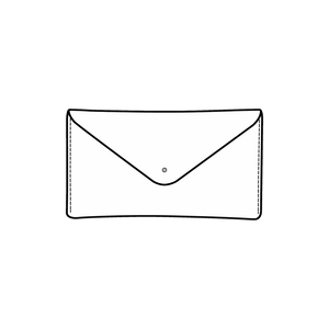 Elongated Envelope Clutches