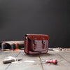 11 Inch Leather Satchel Bag