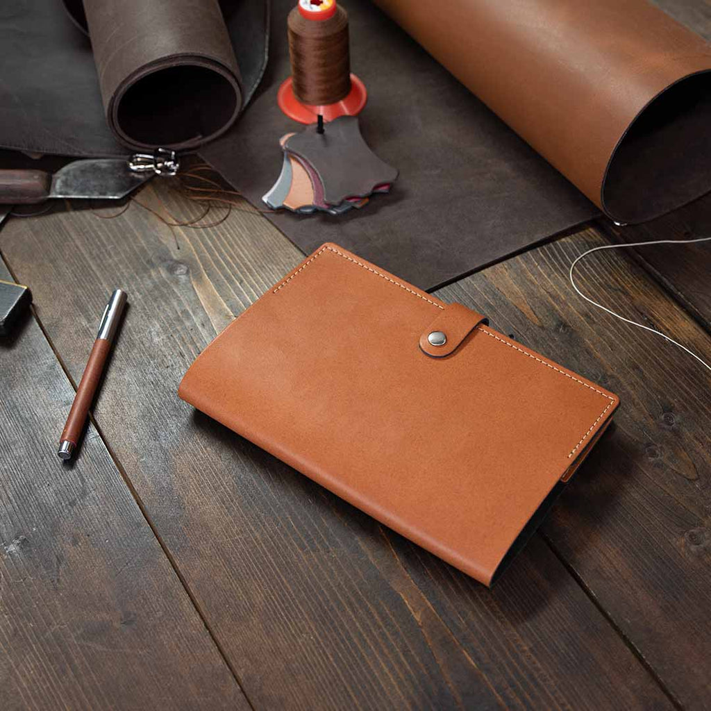 Medium Leather Notebook Cover