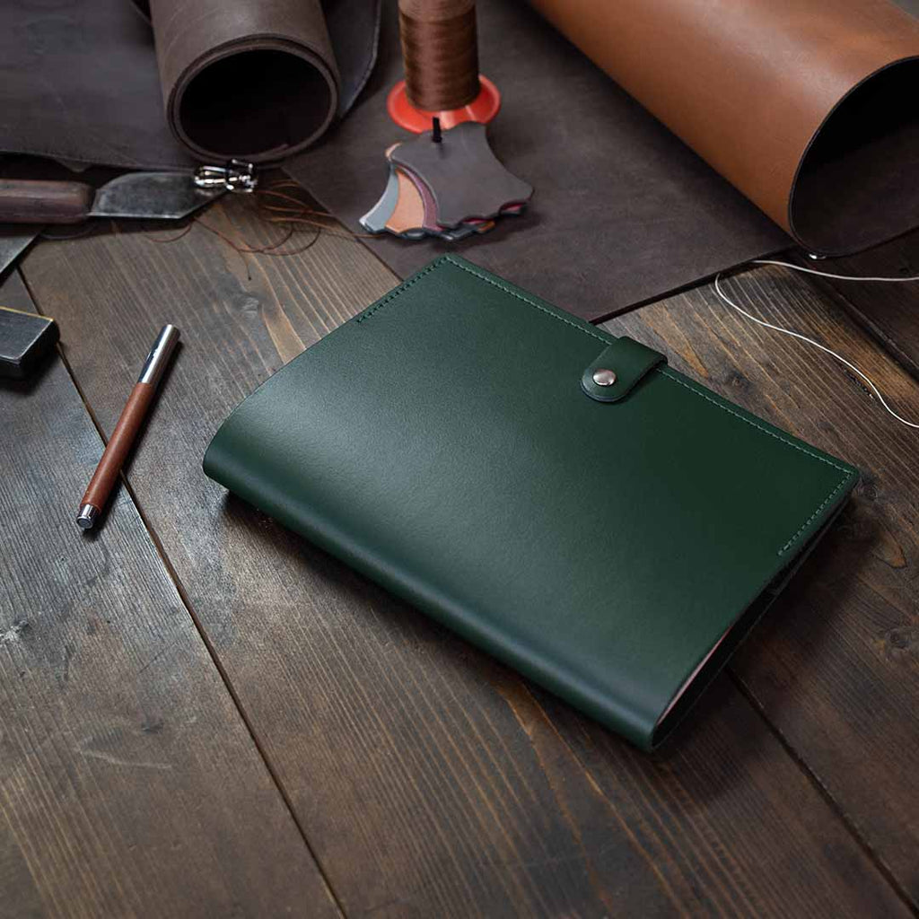 Large Leather Notebook Cover
