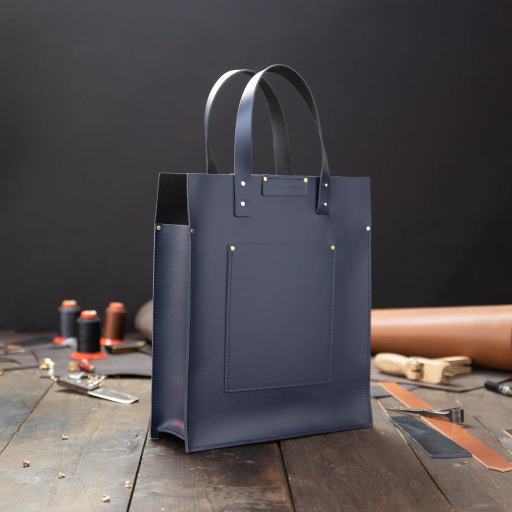 Portfolio Leather Tote Bag
