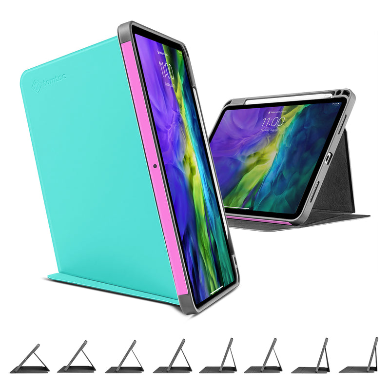Vertical Case for iPad Pro 11-inch (1st/2nd Gen), BlueMint