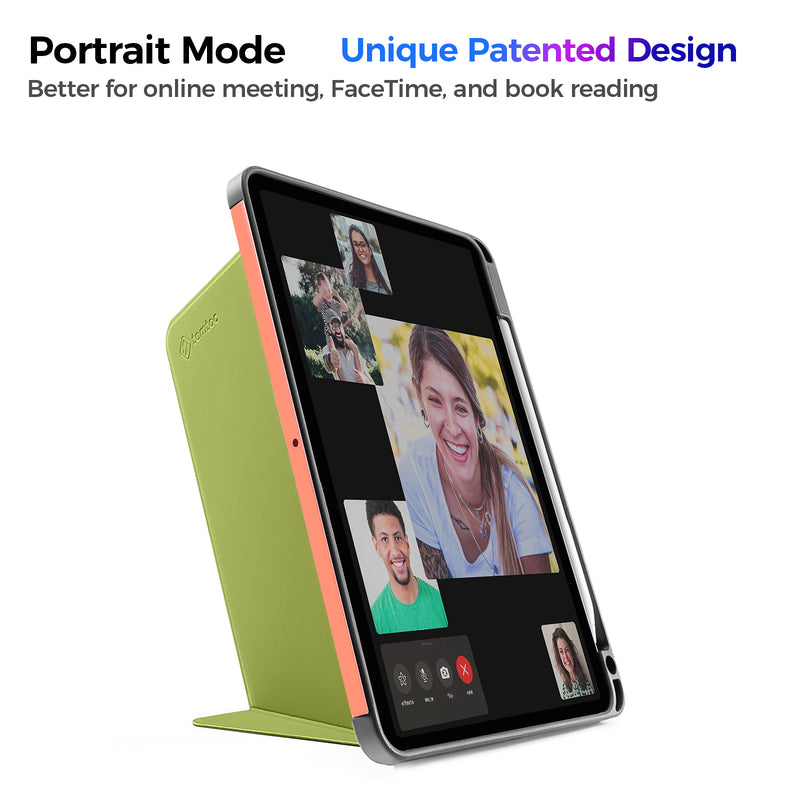 Vertical Case for iPad Pro 11-inch (1st/2nd Gen), Avocado