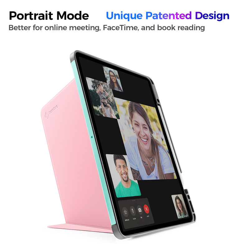 Vertical Case for iPad Pro 12.9-inch (3rd/4th Gen.), Sakura