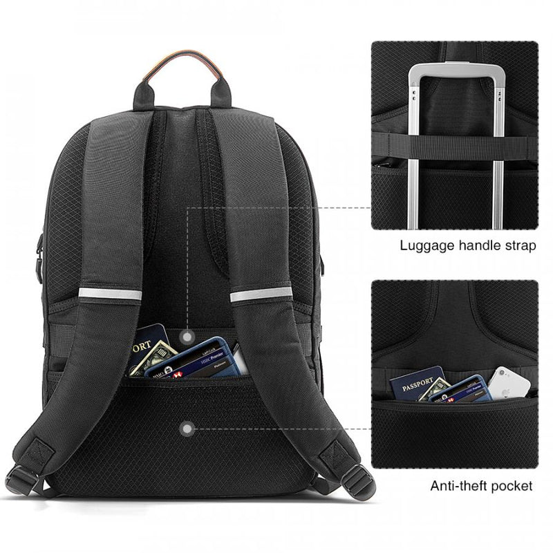 City Laptop Backpack A76