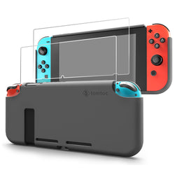 Nintendo Switch Liquid Silicone Case | Gray