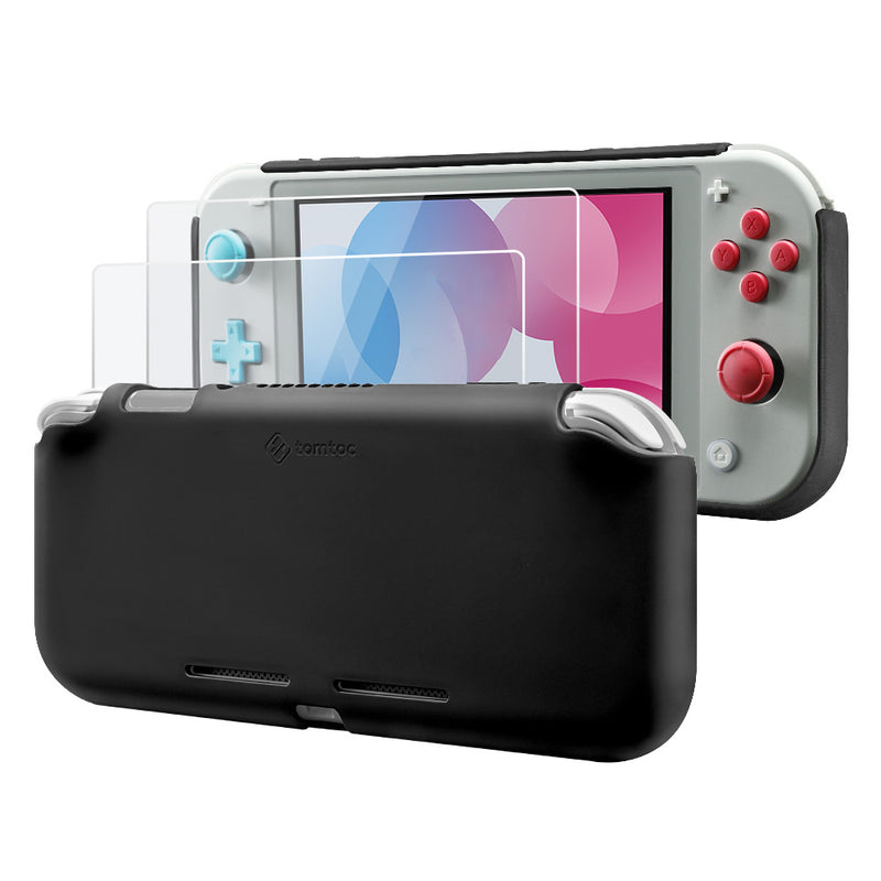 Liquid Silicone Case for Nintendo Switch Lite (Black)