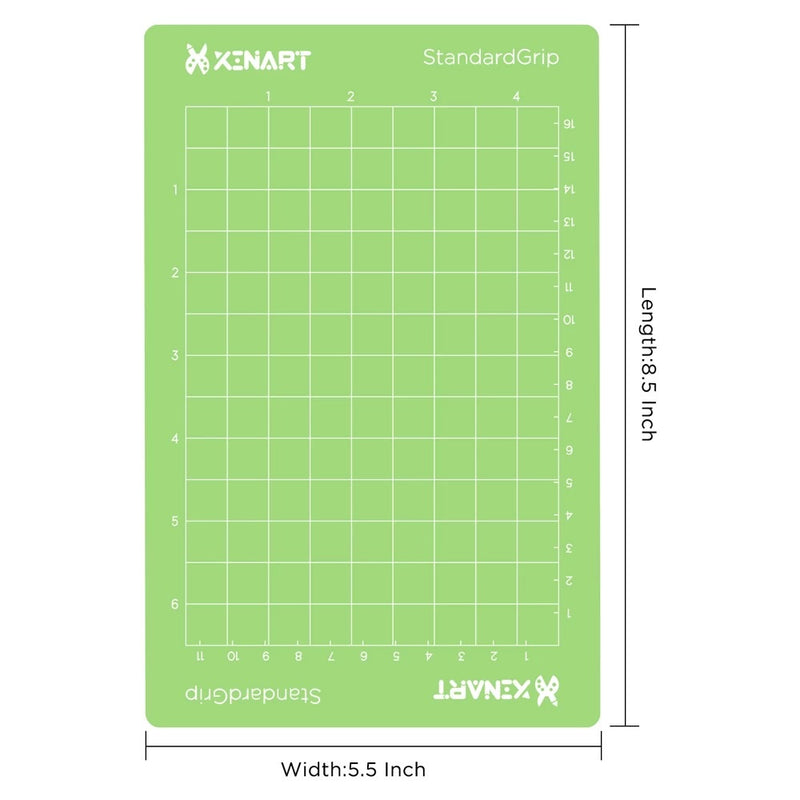 Small Cricut Joy Mat- Green (Standard) Each
