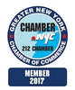 Member of Chamber of Commerce, Greater New York.