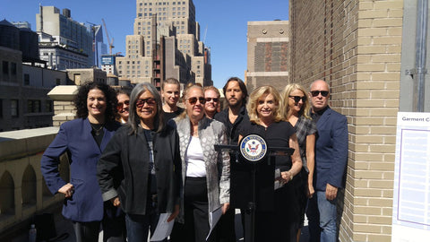 Rep Maloney and NYC Designers- MIchele Benjamin