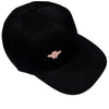 Pink Bee Embroidered - Black Baseball Cap - One Size Fits All - Michele Benjamin - Jewelry Design