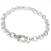 Sterling Silver Chain Link Charm Bracelet  6.3MM, One Size Fits All 6.5 - 7.5 - Michele Benjamin - Jewelry Design