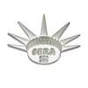 Sterling Silver Liberty Crown ERA Activist Feminist Lapel Pin Brooch - Michele Benjamin - Jewelry Design