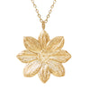 18K Gold Plated Mystic Illusion Dahlia Statement Necklace - Michele Benjamin - Jewelry Design