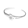 Sterling Silver Bee Cuff Bracelet - Michele Benjamin - Jewelry Design