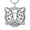 Michele Benjamin Sterling Silver Leopard Pendant Necklace - Michele Benjamin - Jewelry Design