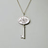 "Sterling Silver ""Key to the City"" Necklace - Michele Benjamin - Jewelry Design"