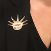 Equality Liberty Crown NYC Jewelry Lapel Brooch Pin - SIZE XL - Michele Benjamin - Jewelry Design