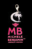 "Sterling Silver ""Crescent Star with Palm Tree"" Charm Necklace Dubai Collection - Michele Benjamin - Jewelry Design"