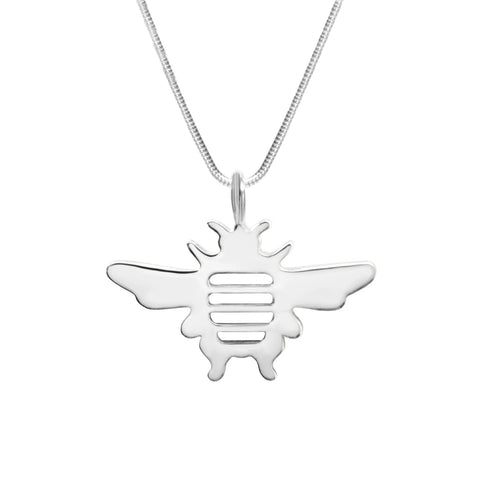 Michele Benjamin Sterling Silver Bee Pendant Necklace